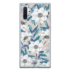 Casimoda Samsung Galaxy Note 10 Plus siliconen hoesje - Touch of flowers
