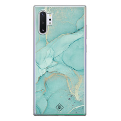 Casimoda Samsung Galaxy Note 10 Plus siliconen hoesje - Touch of mint