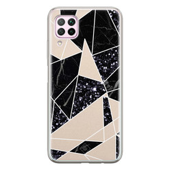 Casimoda Huawei P40 Lite siliconen hoesje - Abstract painted