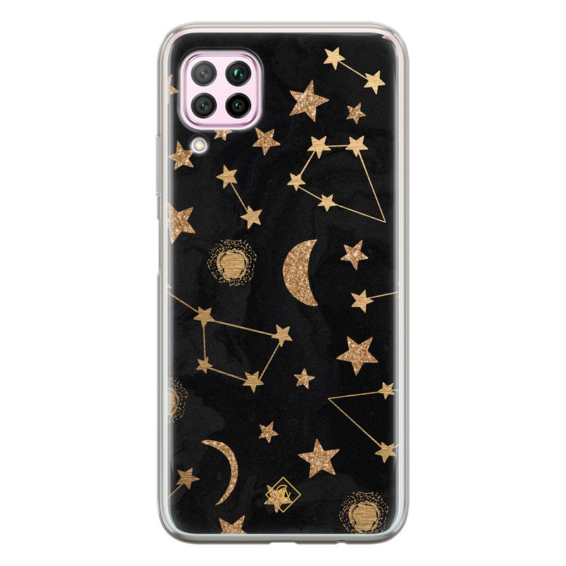 Casimoda Huawei P40 Lite siliconen hoesje - Counting the stars