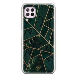 Casimoda Huawei P40 Lite siliconen hoesje - Abstract groen