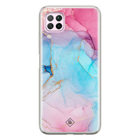 Casimoda Huawei P40 Lite siliconen hoesje - Marble colorbomb