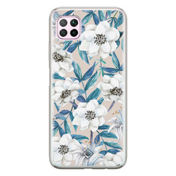 Casimoda Huawei P40 Lite siliconen hoesje - Touch of flowers