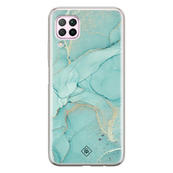 Casimoda Huawei P40 Lite siliconen hoesje - Touch of mint