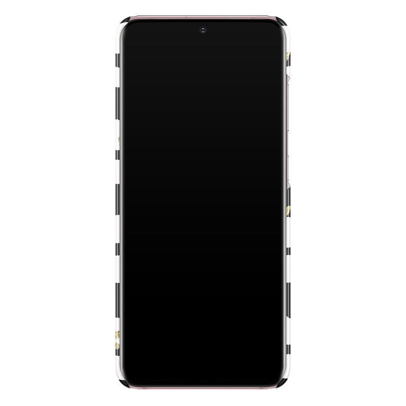 Casimoda Samsung Galaxy S20 rondom bedrukt hoesje - Hart streepjes
