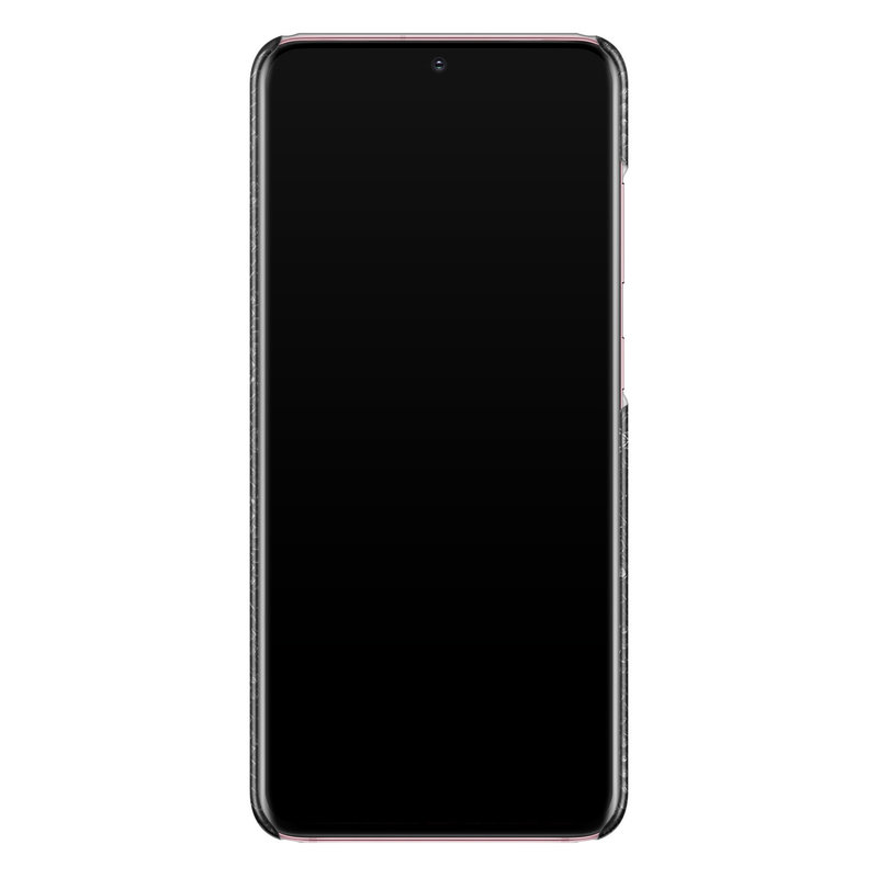 Casimoda Samsung Galaxy S20 rondom bedrukt hoesje - Black croco