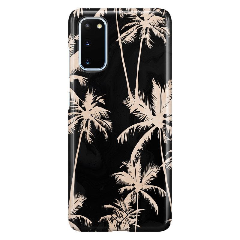 Casimoda Samsung Galaxy S20 rondom bedrukt hoesje - Sweet palms