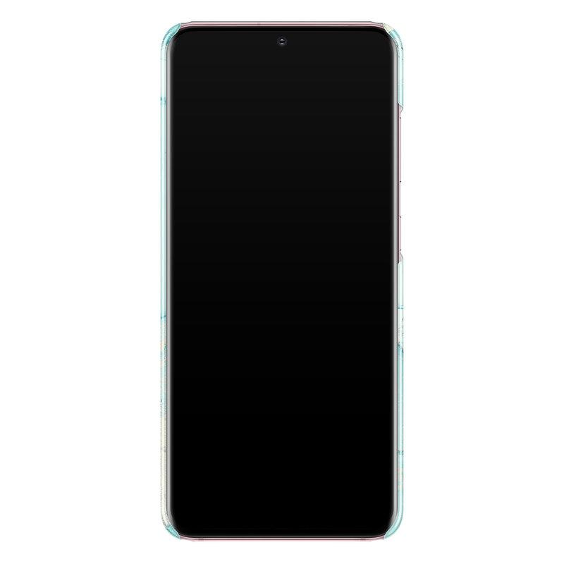 Casimoda Samsung Galaxy S20 rondom bedrukt hoesje - Touch of mint