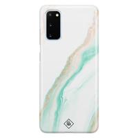 Casimoda Samsung Galaxy S20 rondom bedrukt hoesje - Sweet marble