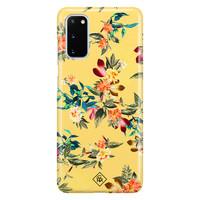 Casimoda Samsung Galaxy S20 rondom bedrukt hoesje - Florals for days