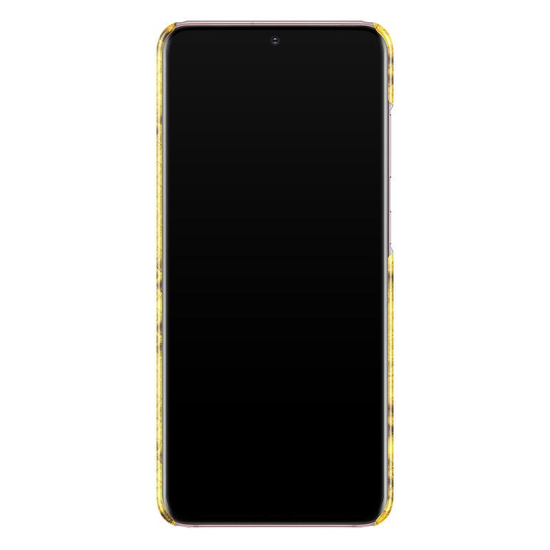 Casimoda Samsung Galaxy S20 rondom bedrukt hoesje - Yellow snake