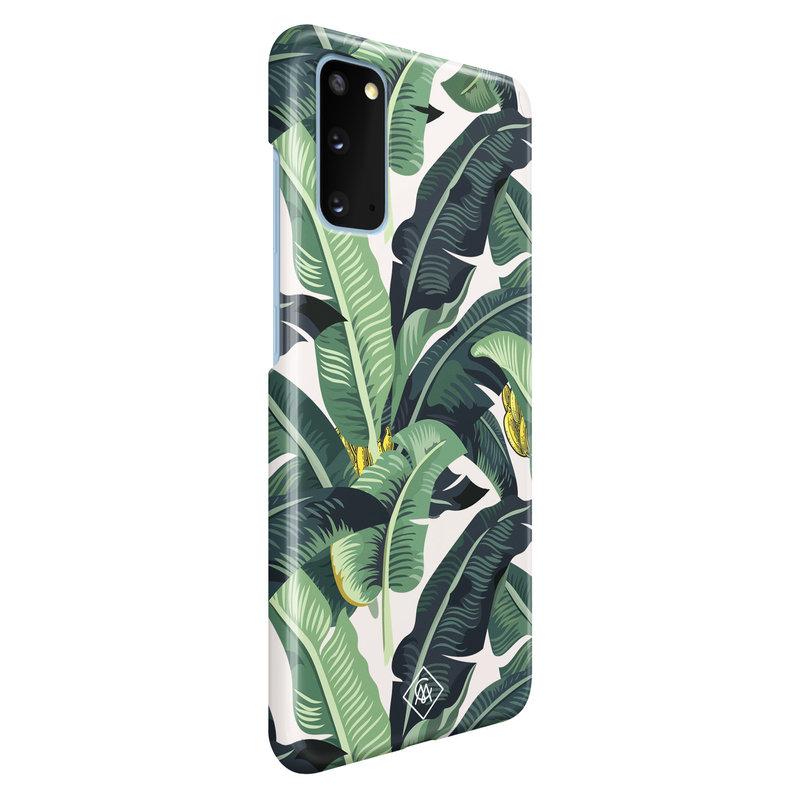 Casimoda Samsung Galaxy S20 rondom bedrukt hoesje - Jungle
