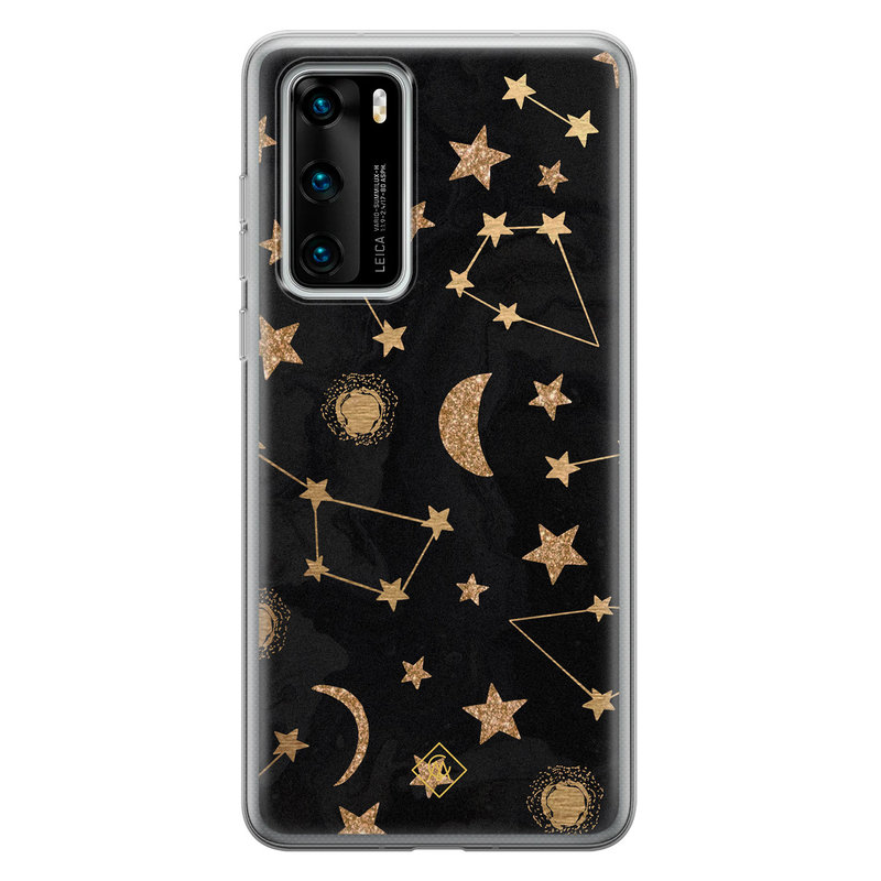 Casimoda Huawei P40 siliconen hoesje - Counting the stars