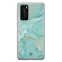 Casimoda Huawei P40 siliconen hoesje - Touch of mint