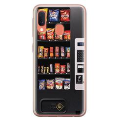 Casimoda Samsung Galaxy A20e siliconen hoesje - Snoepautomaat
