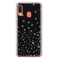 Casimoda Samsung Galaxy A20e siliconen hoesje - Falling stars