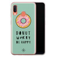 Casimoda Samsung Galaxy A20e siliconen hoesje - Donut worry