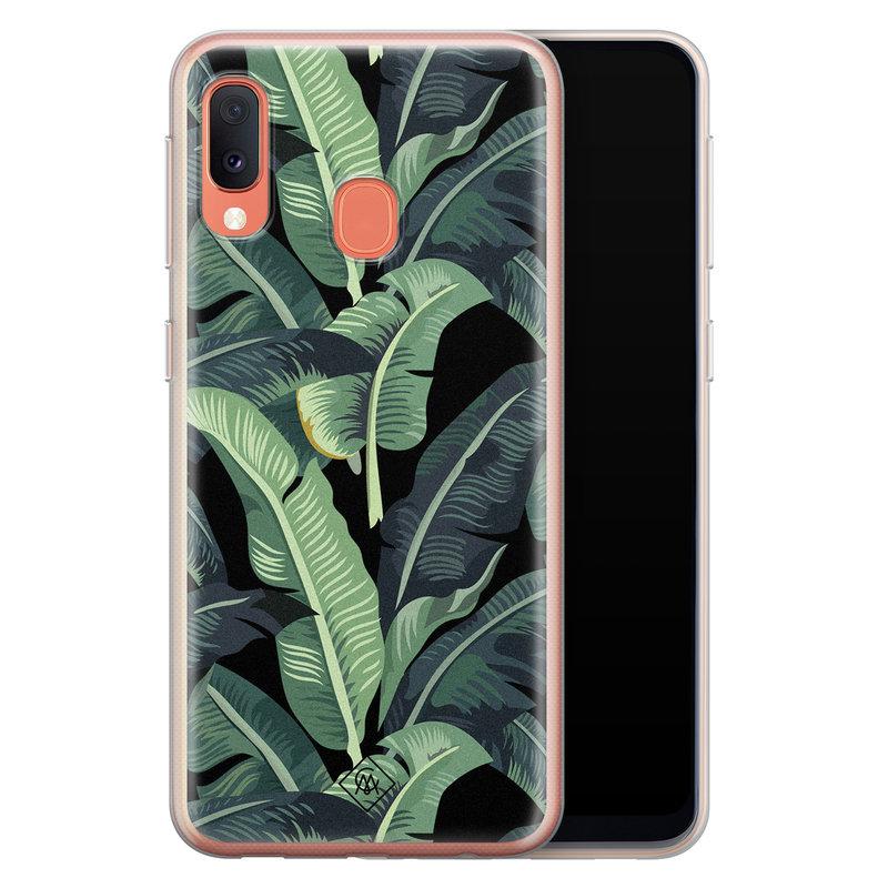 Casimoda Samsung Galaxy A20e siliconen hoesje - Bali vibe