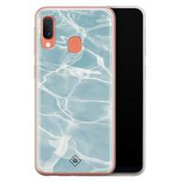 Casimoda Samsung Galaxy A20e siliconen hoesje - Oceaan