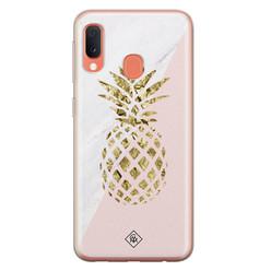 Casimoda Samsung Galaxy A20e siliconen hoesje - Ananas