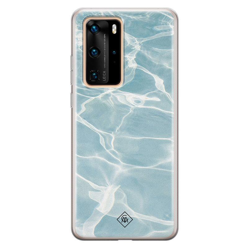 Casimoda Huawei P40 Pro siliconen hoesje - Oceaan