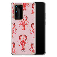 Casimoda Huawei P40 Pro siliconen telefoonhoesje - Lobster all the way