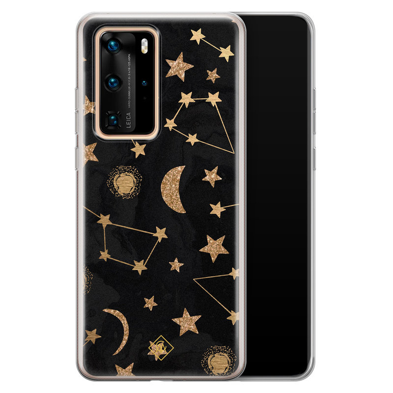 Casimoda Huawei P40 Pro siliconen hoesje - Counting the stars