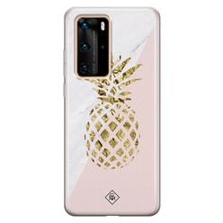 Casimoda Huawei P40 Pro siliconen hoesje - Ananas