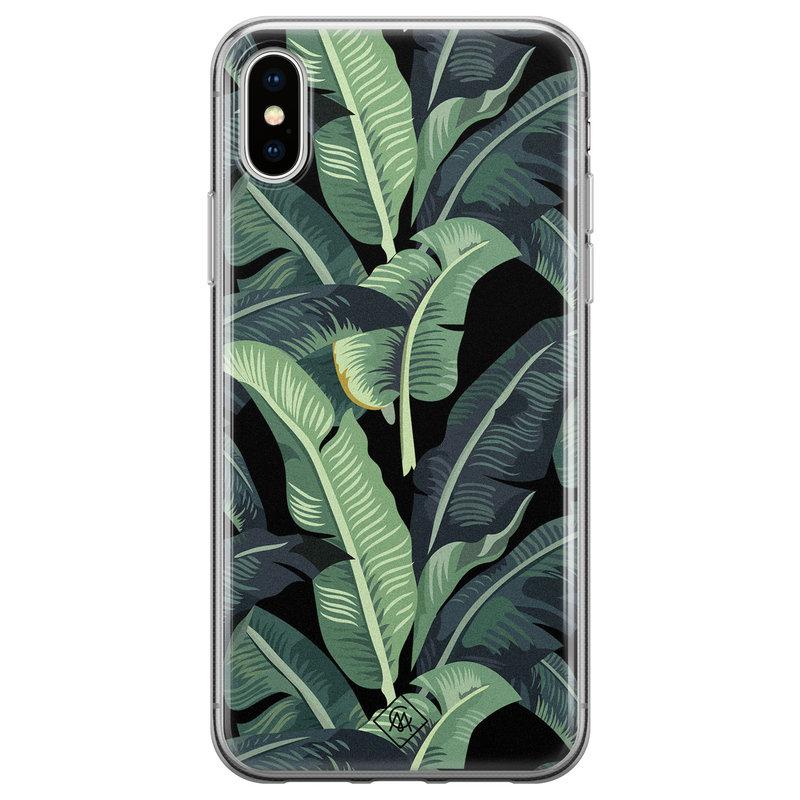 Casimoda iPhone X/XS siliconen hoesje - Bali vibe