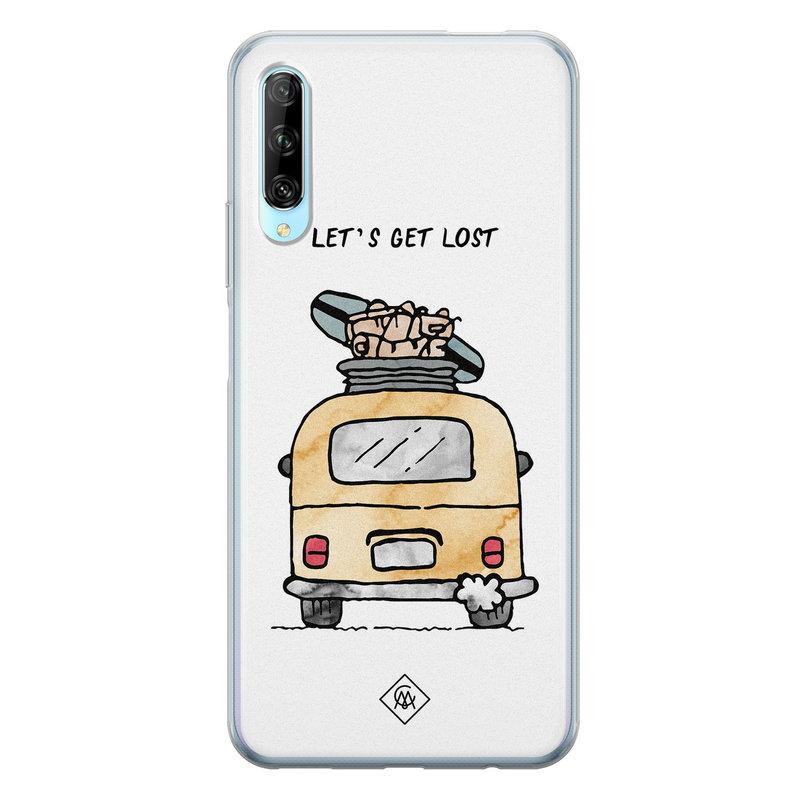 Casimoda Huawei P Smart Pro siliconen hoesje - Let's get lost