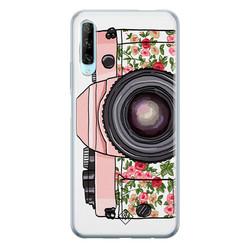 Casimoda Huawei P Smart Pro siliconen hoesje - Hippie camera