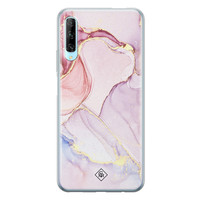 Casimoda Huawei P Smart Pro siliconen hoesje - Marble colorbomb