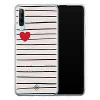 Casimoda Huawei P Smart Pro siliconen hoesje - Heart queen