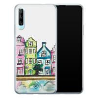 Casimoda Huawei P Smart Pro siliconen telefoonhoesje - Amsterdam