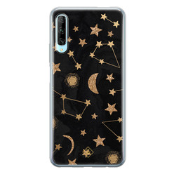 Casimoda Huawei P Smart Pro siliconen hoesje - Counting the stars
