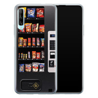 Casimoda Huawei P Smart Pro siliconen hoesje - Snoepautomaat