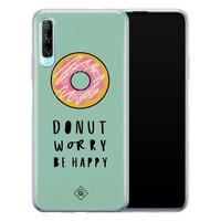 Casimoda Huawei P Smart Pro siliconen hoesje - Donut worry
