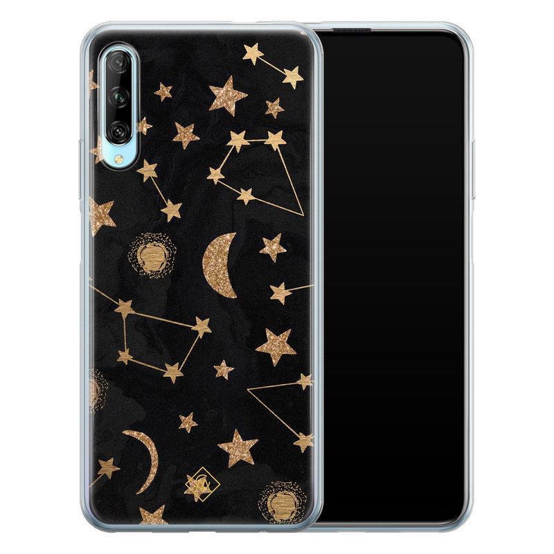 Casimoda Huawei P Smart Pro siliconen hoesje - Counting the stars