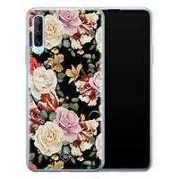 Casimoda Huawei P Smart Pro siliconen hoesje - Flowerpower