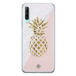 Casimoda Huawei P Smart Pro siliconen hoesje - Ananas
