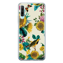 Casimoda Huawei P Smart Pro siliconen hoesje - Sunflowers