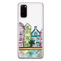 Casimoda Samsung Galaxy S20 siliconen hoesje - Amsterdam