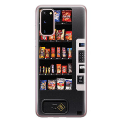 Casimoda Samsung Galaxy S20 siliconen hoesje - Snoepautomaat