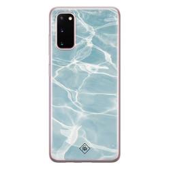 Casimoda Samsung Galaxy S20 siliconen hoesje - Oceaan