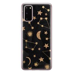 Casimoda Samsung Galaxy S20 siliconen hoesje - Counting the stars
