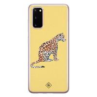 Casimoda Samsung Galaxy S20 siliconen hoesje - Leo wild