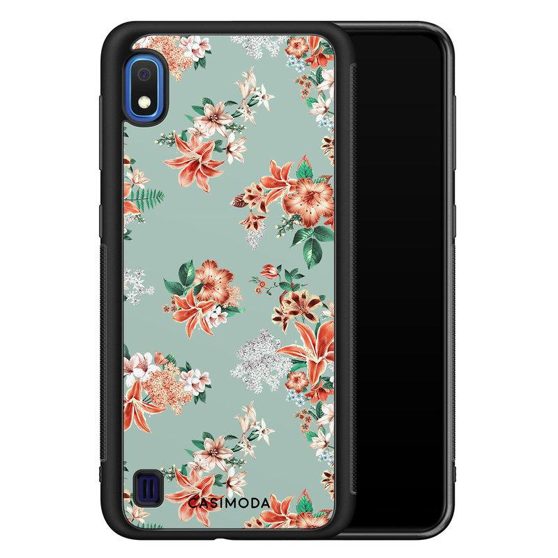 Casimoda Samsung Galaxy A10 hoesje - Lovely flowers