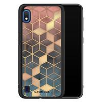 Casimoda Samsung Galaxy A10 hoesje - Cubes art