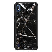 Casimoda Samsung Galaxy A10 hoesje - Marmer zwart