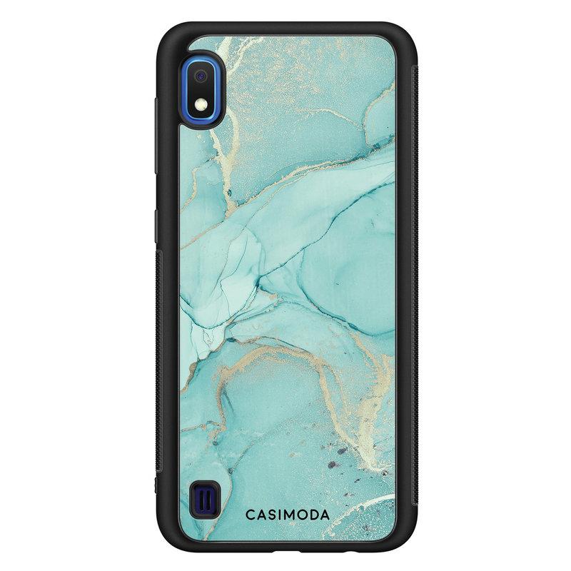 Casimoda Samsung Galaxy A10 hoesje - Touch of mint